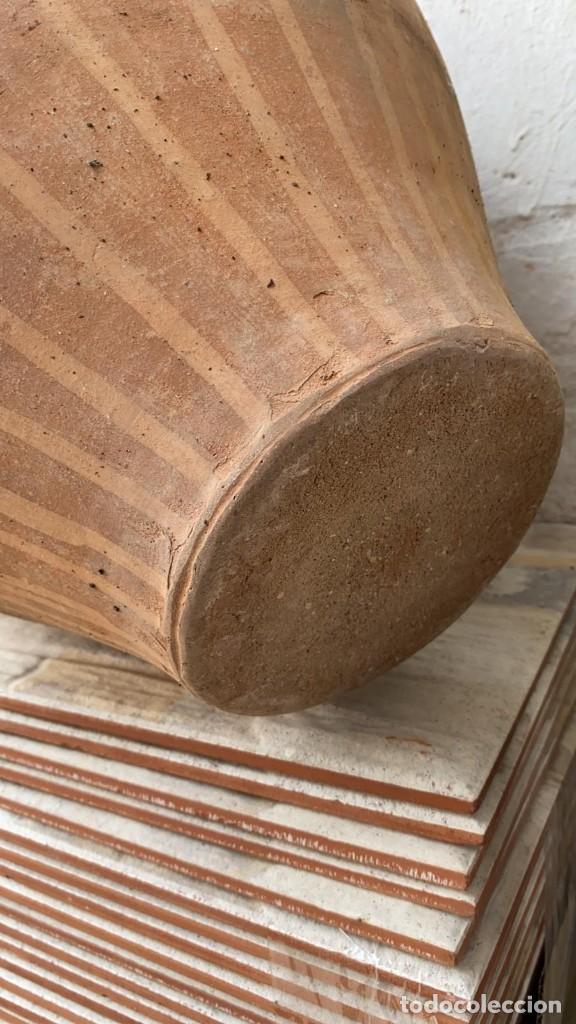 Antigüedades: CANTARO ANTIGUO EXTRAORDINARIO DE OROZCO DE VILLARROBLEDO DE 49 CMS. DE ALTURA MUY ROBUSTO - Foto 6 - 222258402