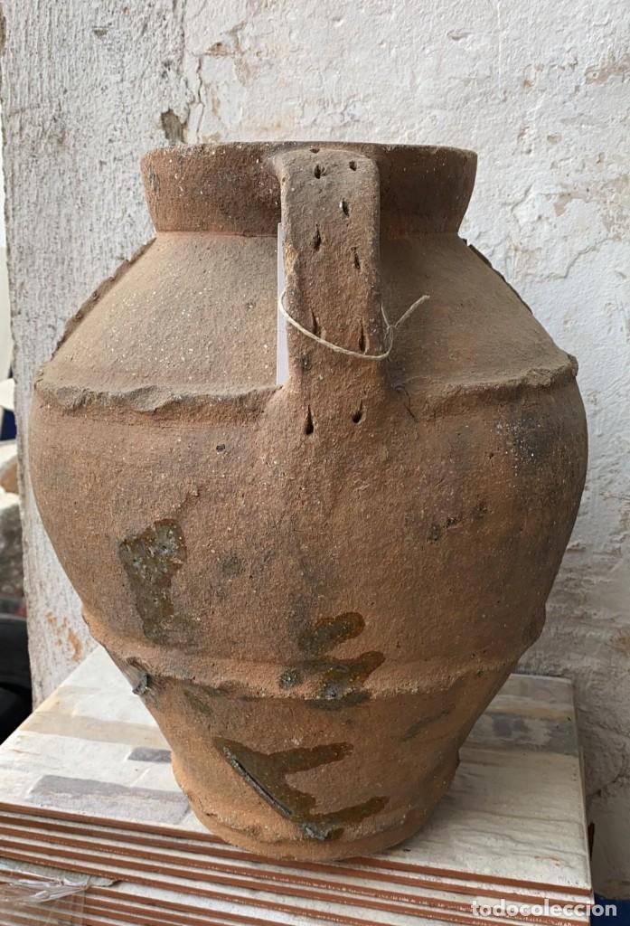 Antigüedades: OLLA ANTIGUA DE PERERUELA PUEBLO DE ZAMORA CON USO DE 39 C,S- DE ALTO - Foto 2 - 222258943