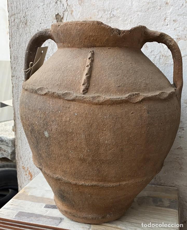 Antigüedades: OLLA ANTIGUA DE PERERUELA PUEBLO DE ZAMORA CON USO DE 39 C,S- DE ALTO - Foto 3 - 222258943