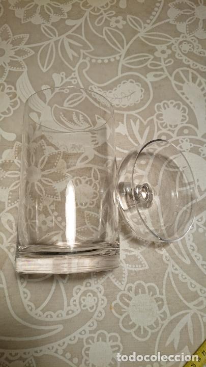 Antigüedades: Antiguo tarro / bote de cristal transparente de colmado o tienda de los años 20-30 - Foto 4 - 222286516