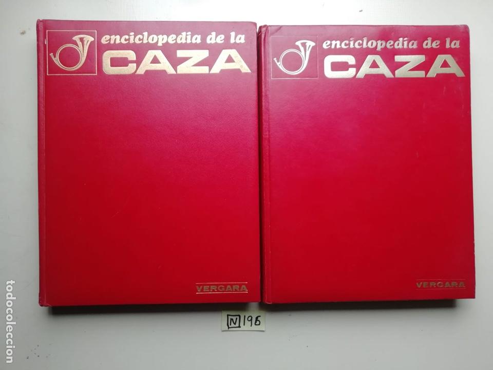 ENCICLOPEDIA DE LA CAZA. 2 TOMOS. VERGARA, 1969. (Antigüedades - Técnicas - Rústicas - Caza)