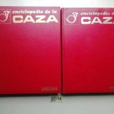 Antigüedades: ENCICLOPEDIA DE LA CAZA. 2 TOMOS. VERGARA, 1969.. Lote 222290152