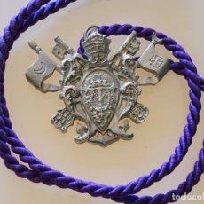 Antigüedades: MEDALLA MEDALLÓN RELIGIOSO. HERMANDAD DE NTRA SRA DEL ROSARIO DE SEMANA SANTA DE GRANADA. 60GR. Lote 222290696