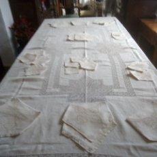 Antigüedades: MANTELERÍA. Lote 222295581