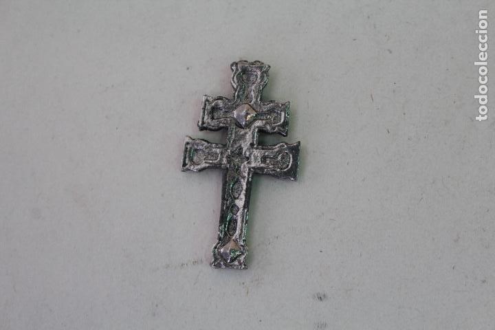 Antigüedades: antigua cruz de caravaca - Foto 2 - 222301678