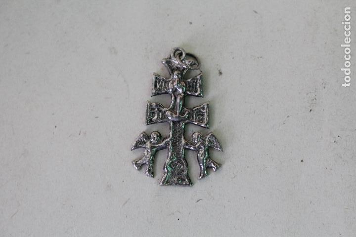 Antigüedades: antigua cruz de caravaca - Foto 2 - 222301807