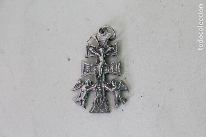 ANTIGUA CRUZ DE CARAVACA (Antigüedades - Religiosas - Cruces Antiguas)