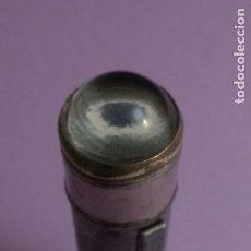 Antigüedades: ANTIGUA LINTERNA JYE - METAL CON CRISTAL LUPA - 11.5 X 2.5 CMS. Lote 222303847