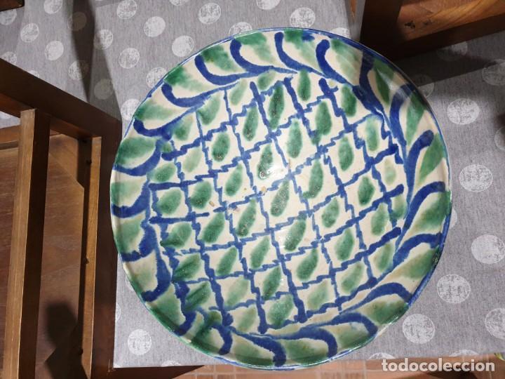 PRECIOSO FUENTE FAJALAUZA SIGLO XIX (Antigüedades - Porcelanas y Cerámicas - Fajalauza)
