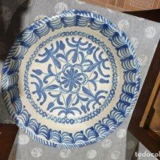Antigüedades: PRECIOSA FUENTE DEL SIGLO XIX. FILO VUELTO. Lote 222326998