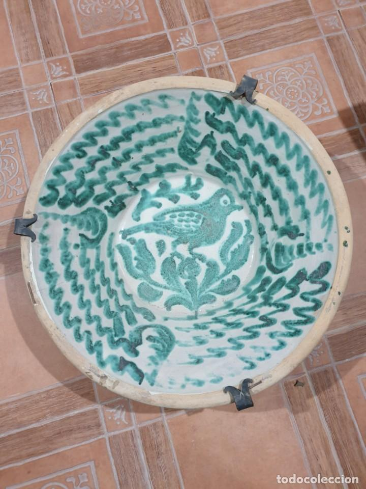 FANTÁSTICO LEBRILLO FAJALAUZA SIGLO XVIII/ XIX (Antigüedades - Porcelanas y Cerámicas - Fajalauza)