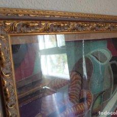 Antigüedades: MARCO DE MADERA CUADRADO. Lote 222330795