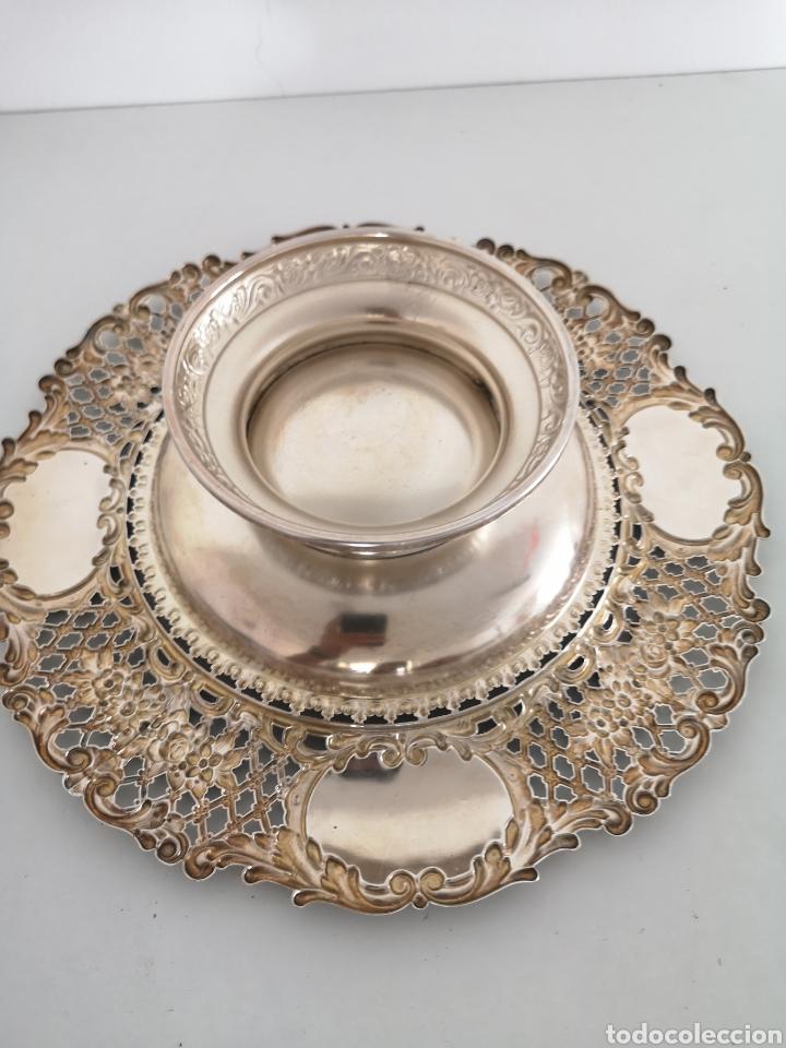 Antigüedades: Precioso centro de mesa con sello - Foto 5 - 222352732