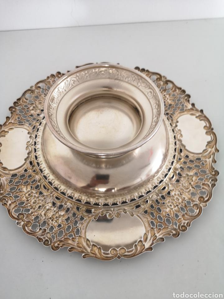 Antigüedades: Precioso centro de mesa con sello - Foto 6 - 222352732