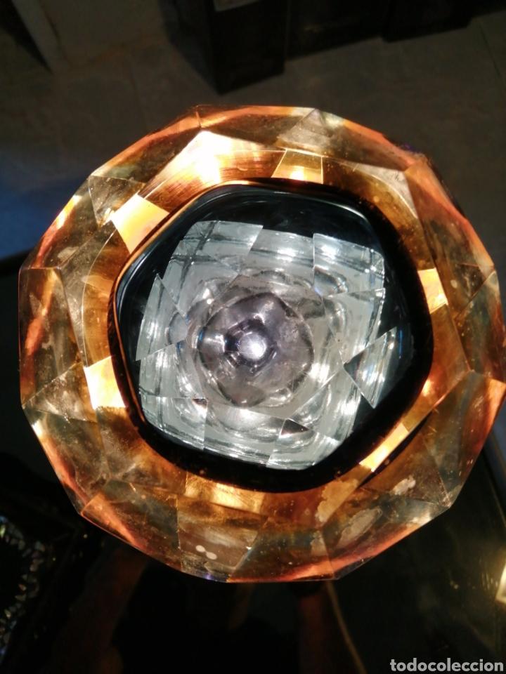 Antigüedades: Bowl en Cristal diseñado por Seguso Vetri dArte y Flavio Poli 1960 Siglo XX - Foto 5 - 222354445