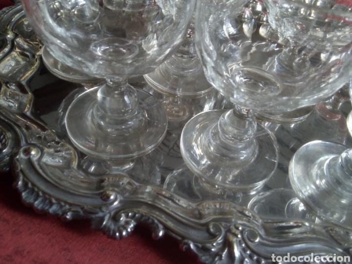 Antigüedades: Copas de Bohemia - Foto 2 - 222355977