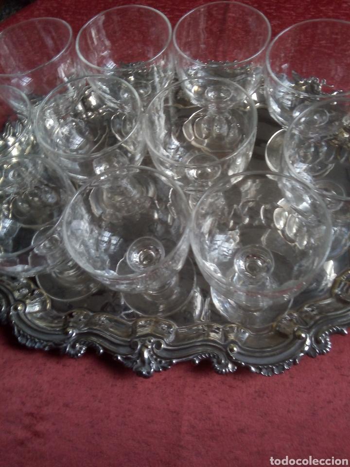Antigüedades: Copas de Bohemia - Foto 4 - 222355977