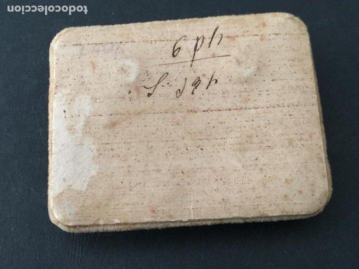 Antigüedades: GEMELOS ANTIGUOS ESMALTADOS (CARA DE INDIO) - Foto 2 - 222369857