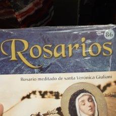 Antigüedades: COLECCION ROSARIOS N 86 ROSARIO MEDITADO DE SANTA VERONICA GIULIANI. Lote 222375425