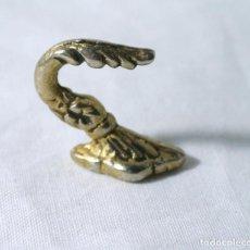 Antigüedades: GANCHO COLGADOR PARA CORTINA ANTIGUO , ALZAPAÑOS. Lote 222375472