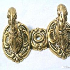 Antigüedades: ANTIGUO COLGADOR DOBLE , ALZAPAÑOS. Lote 140973534