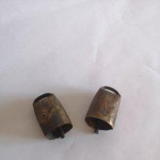 Antiquités: ANTIGUOS CENCERROS O ESQUILAS PARA EL GANADO. Lote 222394900