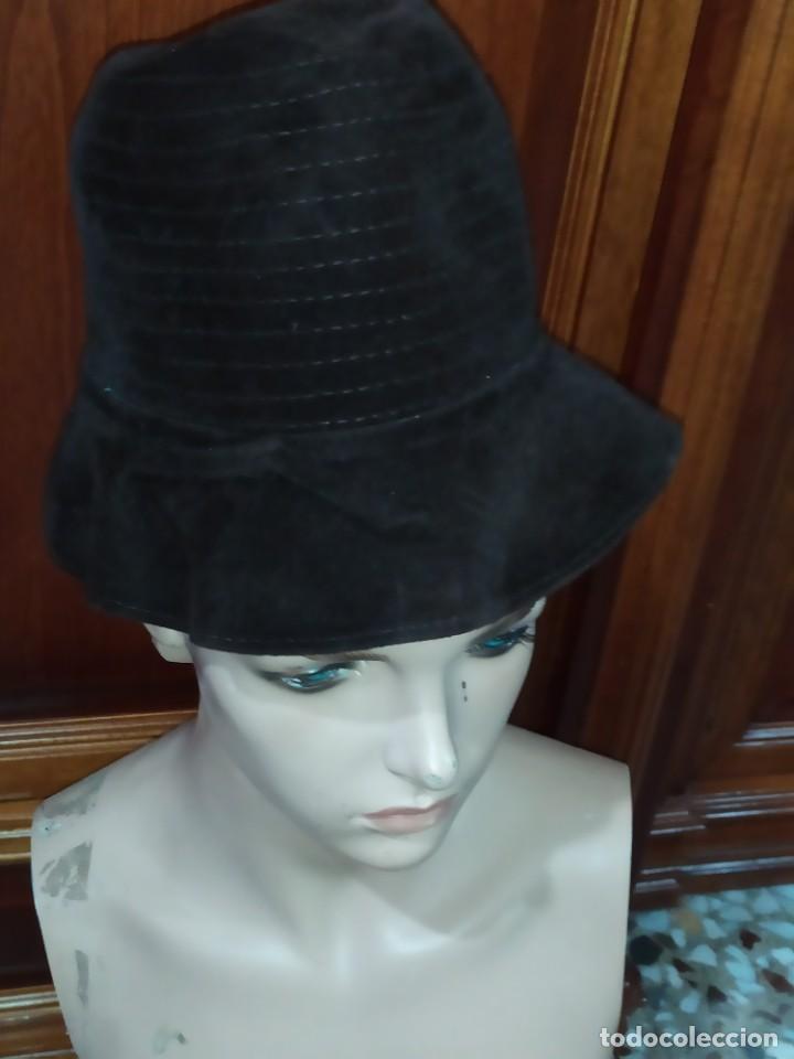 ANTIGUO SOMBRERO HUT HORN MODEN OLDENBURG BONITO (Antigüedades - Moda - Sombreros Antiguos)