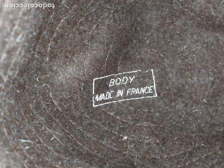 Antigüedades: ANTIGUO SOMBRERO HUT HORN MODEN OLDENBURG BONITO - Foto 5 - 222402577