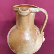 Antigüedades: DE COLECCION,JARRO DE VINO, AZUMBRE EN CERAMICA DE UBEDA,(JAEN),S. XIX. Lote 222414491