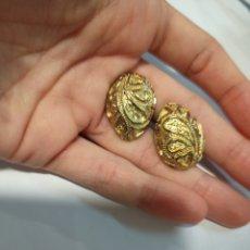 Antigüedades: PRECIOSOS GEMELOS PARA CAMISA. Lote 222423235