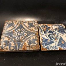 Antigüedades: AZULEJOS GOTICOS SIGLO XV. Lote 222435676