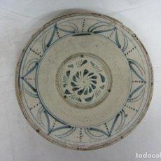 Antigüedades: PLATO DE PRINCIPIOS DE SIGLO XIX - TERUEL. Lote 222436765