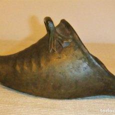 Antigüedades: ANTIGUO ESTRIBO COLONIAL S.XIX DE BRONCE. Lote 222457248