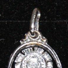 Antigüedades: MEDALLA DE PLATA PEQUEÑO TAMAÑO VIRGEN DEL PILAR. Lote 222478296
