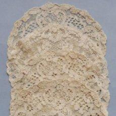 Antigüedades: CINCO ANTIGUOS TAPETES DE ENCAJE DE ALENÇON PPIO.S.XX. Lote 222489966