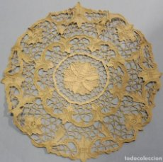 Antigüedades: ANTIGUO TAPETE DE ENCAJE DE VENECIA PPIO. S. XX. Lote 222490667
