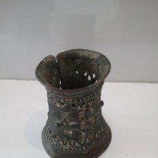Antigüedades: ANTIGUO BRAZALETE AFRICANO EN BRONCE. Lote 222542632