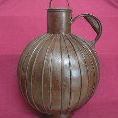 Antigüedades: DE COLECCION,MAGNIFICO CANTARO DE ACEITE DE COSTILLAS,S. XVIII-XIX. Lote 222553507