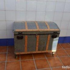Antigüedades: BAÚL ANTIGUO. Lote 222565027