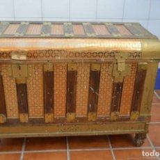 Antigüedades: BAÚL ANTIGUO. Lote 222565296