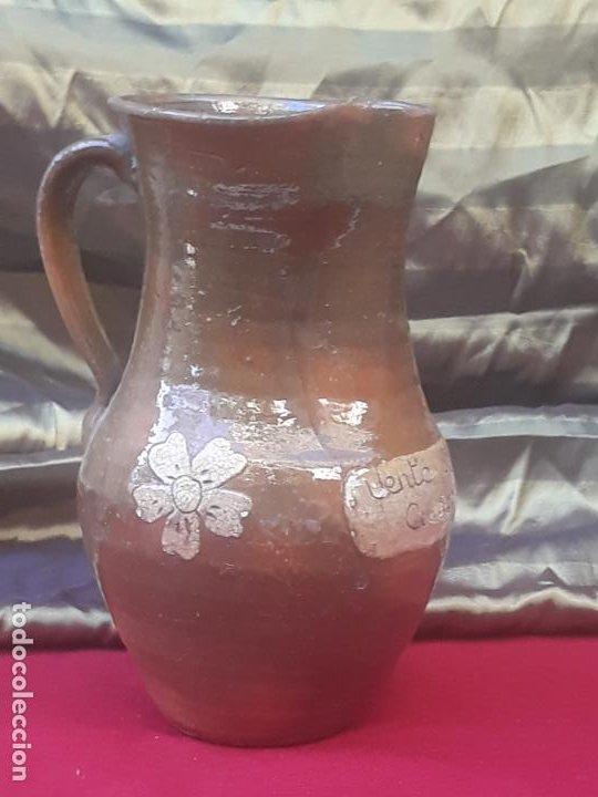 Antigüedades: JARRA VINATERA ANTIGUA DE CUERVA - VENTA DE SAN MARTIN - TOLEDO. CUATRO AMIGOS - UNICA. - Foto 3 - 222569566