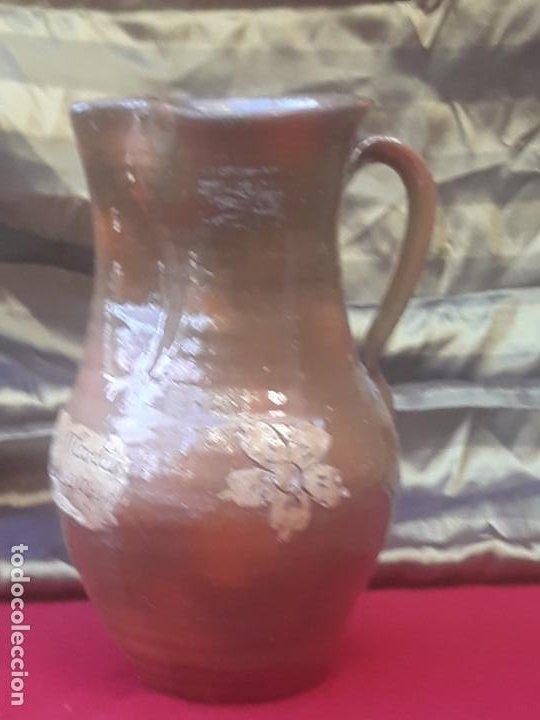 Antigüedades: JARRA VINATERA ANTIGUA DE CUERVA - VENTA DE SAN MARTIN - TOLEDO. CUATRO AMIGOS - UNICA. - Foto 5 - 222569566
