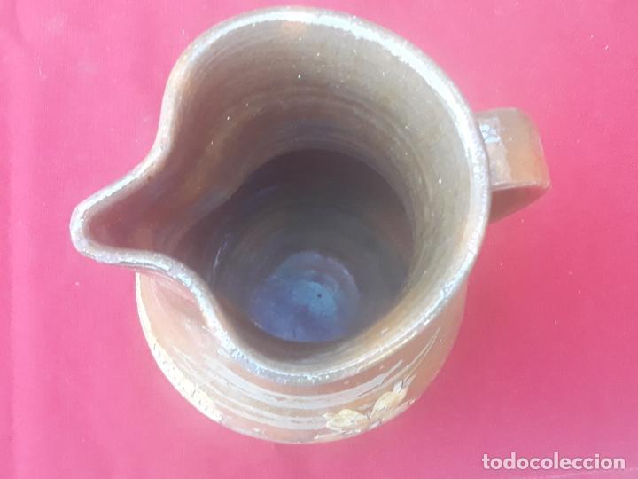Antigüedades: JARRA VINATERA ANTIGUA DE CUERVA - VENTA DE SAN MARTIN - TOLEDO. CUATRO AMIGOS - UNICA. - Foto 6 - 222569566