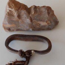 Antigüedades: ENCENDEDOR CHISQUERO DE PEDERNAL. Lote 222574363