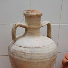 Antigüedades: TINAJA BARRO SIGLO XIX. Lote 222579895