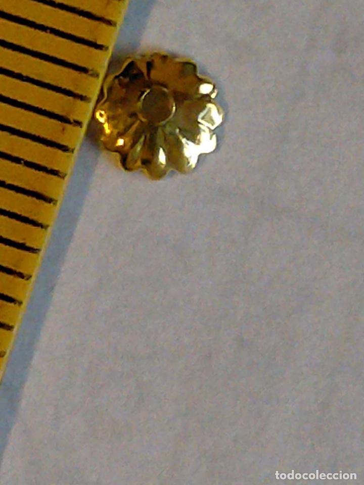 Antigüedades: 400 unidades lentejuelas METAL doradas relieve bordar bordados traje virgen niño Jesús semana Santa - Foto 11 - 257397300