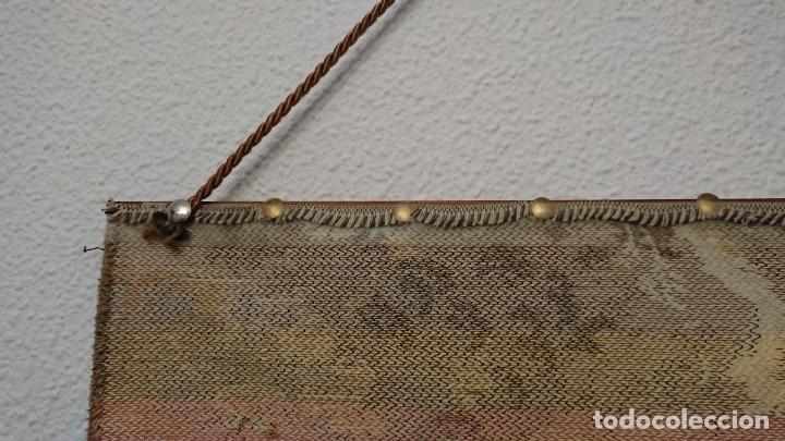 Antigüedades: TAPIZ DE PARED 50×50 CM - Foto 12 - 222603861