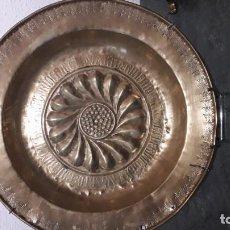 Antigüedades: DOS PLATOS LIMOSNEROS. Lote 222616923
