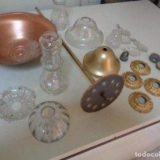 Antiquités: PIEZAS REPARACIONES LAMPARA ARAÑA CRISTAL. Lote 222620898