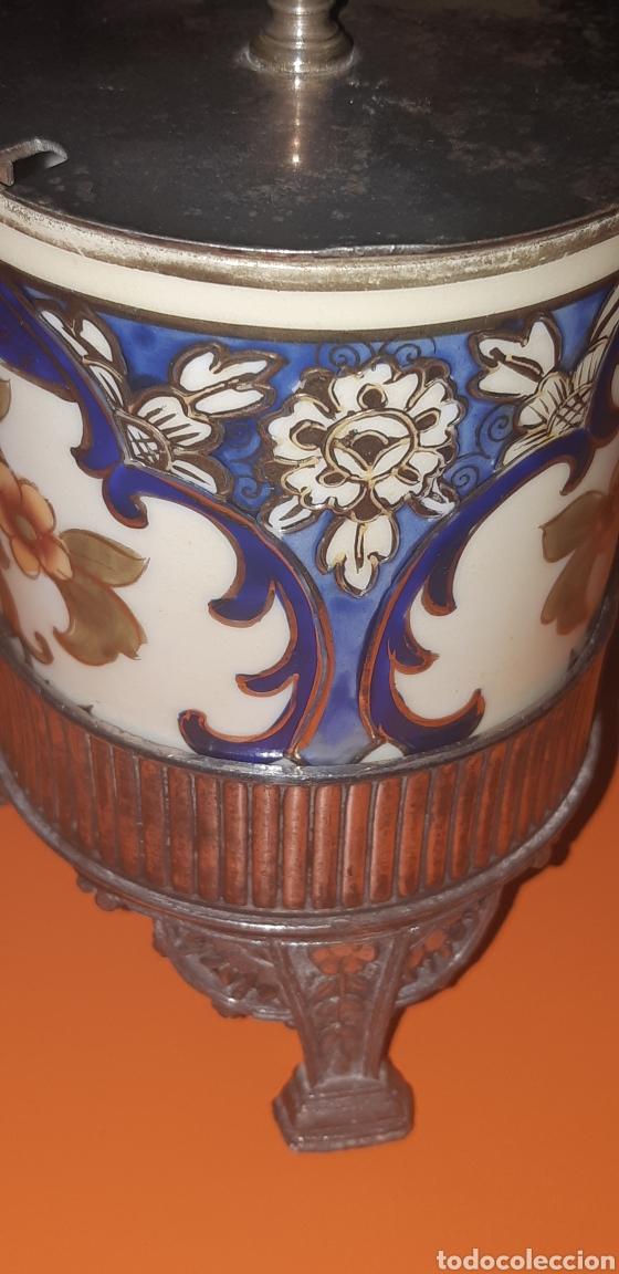Antigüedades: Pequeño azucarero primer cuarto sxx - Foto 2 - 222624040